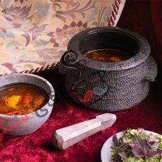 طرز تهیه آبگوشت خوشمزه در دیگ سنگی