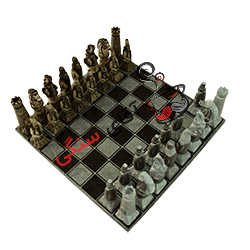 شطرنج سنگی